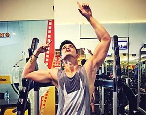 Kevin Kambey di Gym