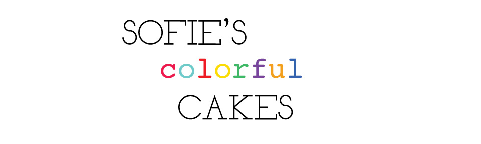 Sofie's colorful cakes
