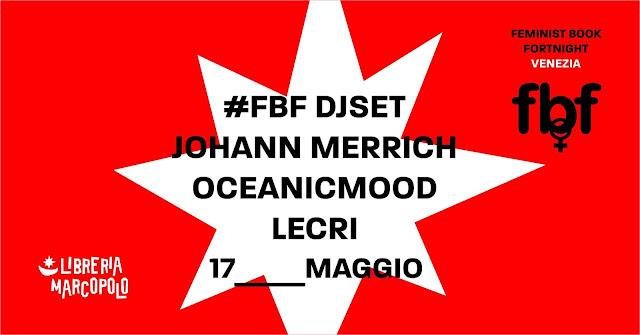Feminist Book Fortnight Djset! - 17 maggio