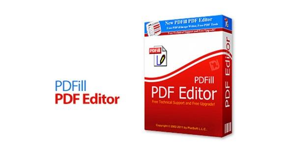 برنامج PDfill PDF editor