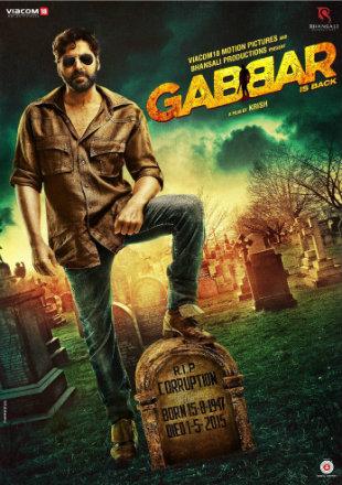 Gabbar is Back 2015 Full BRRip 1080p Hindi Movie Download