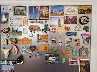 Organize Your Travel Magnet Collection