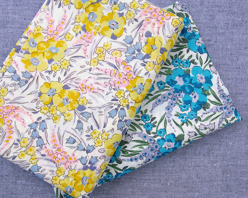 Liberty of London Tana Lawn - A Pocket Full of Memories - Swirling Petals | © Red Pepper Quilts 2018