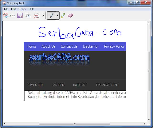 Cara Mengambil Gambar (Screenshot) di Layar PC/Laptop