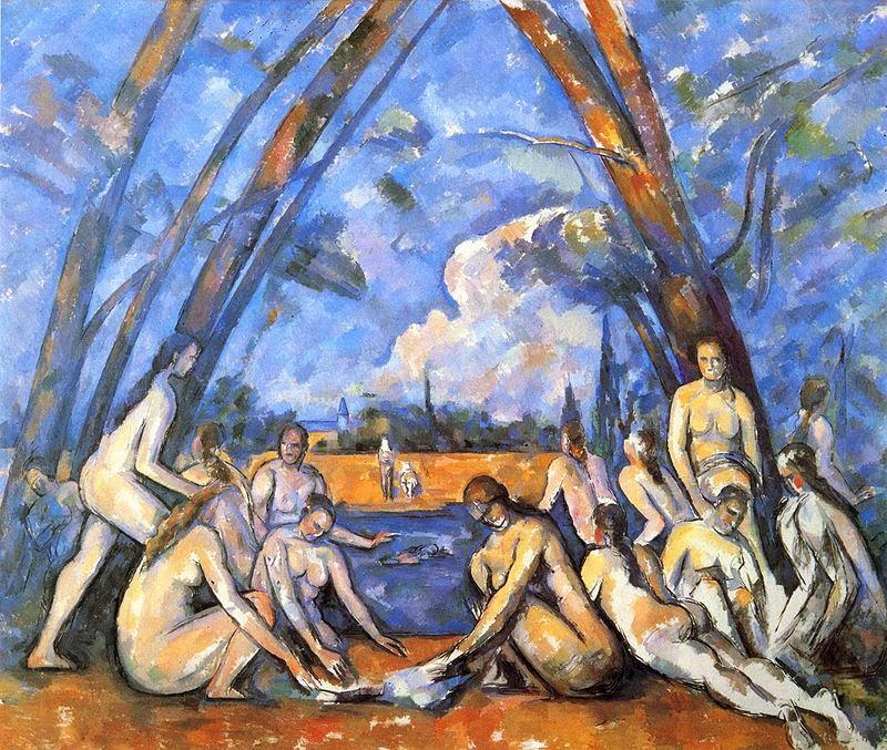 Grandes Banhistas Nuas - Paul Cézanne e suas principais pinturas ~ O fundador da Arte Moderna