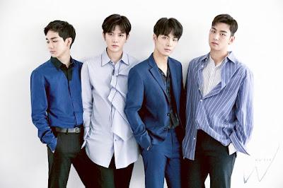 yaitu sebuah grup laki-laki asal Korea Selatan yang bernaung dibawah label  Profil, Biodata, Fakta NU'EST