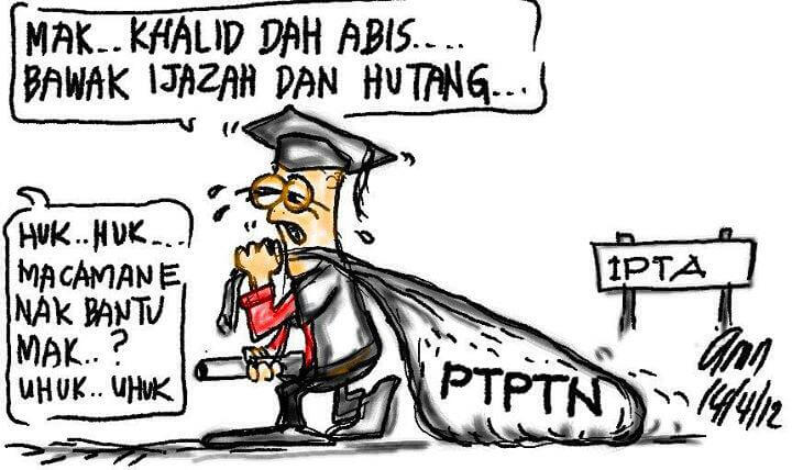 Lawak Hutang PTPTN