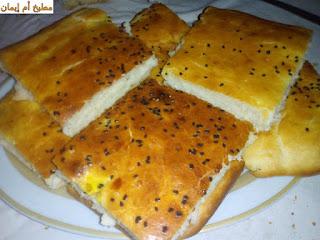 خبز الدار بالفرينة خفيف