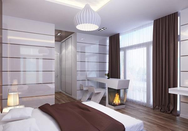 Bedroom Ideas: Striped Walls Bedroom Ideas