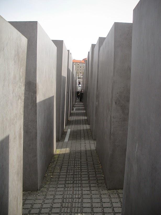 Jewish Holocaust memorial in Berlin, Germany