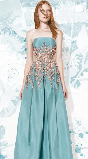 Patricia Bonaldi vestido de festa longo verão 2016