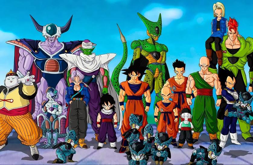 Manga Dragon Ball Z Será Lançado Totalmente Colorido No