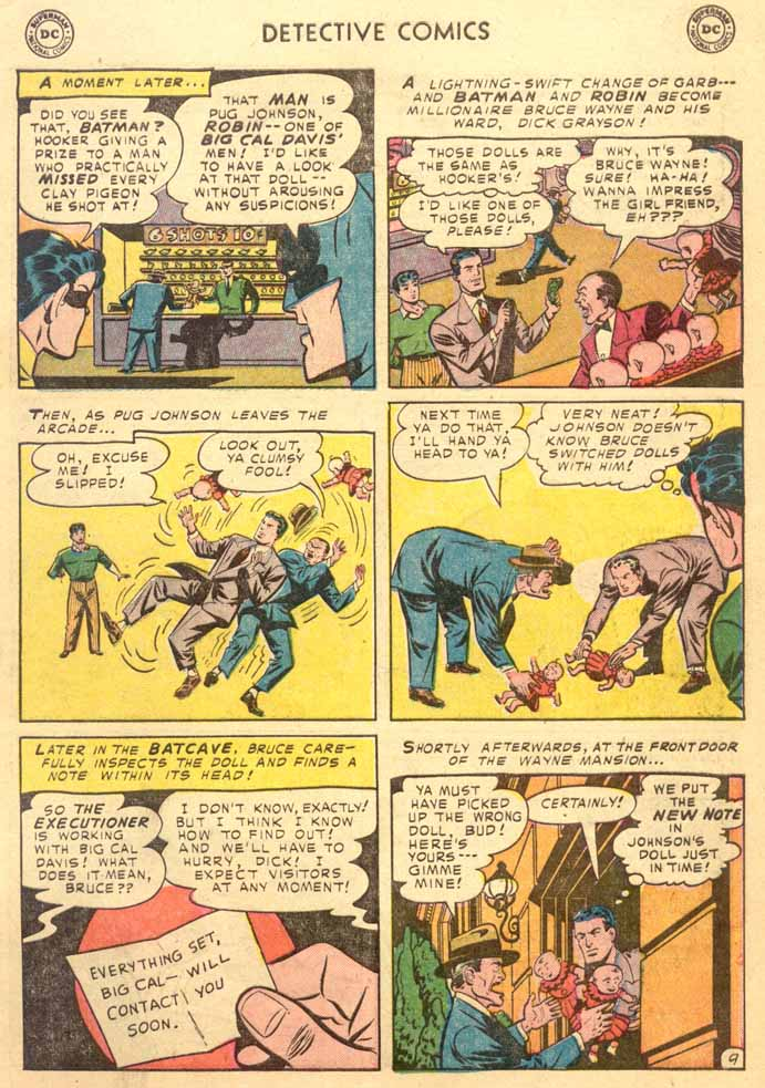 Read online Detective Comics (1937) comic -  Issue #191 - 11