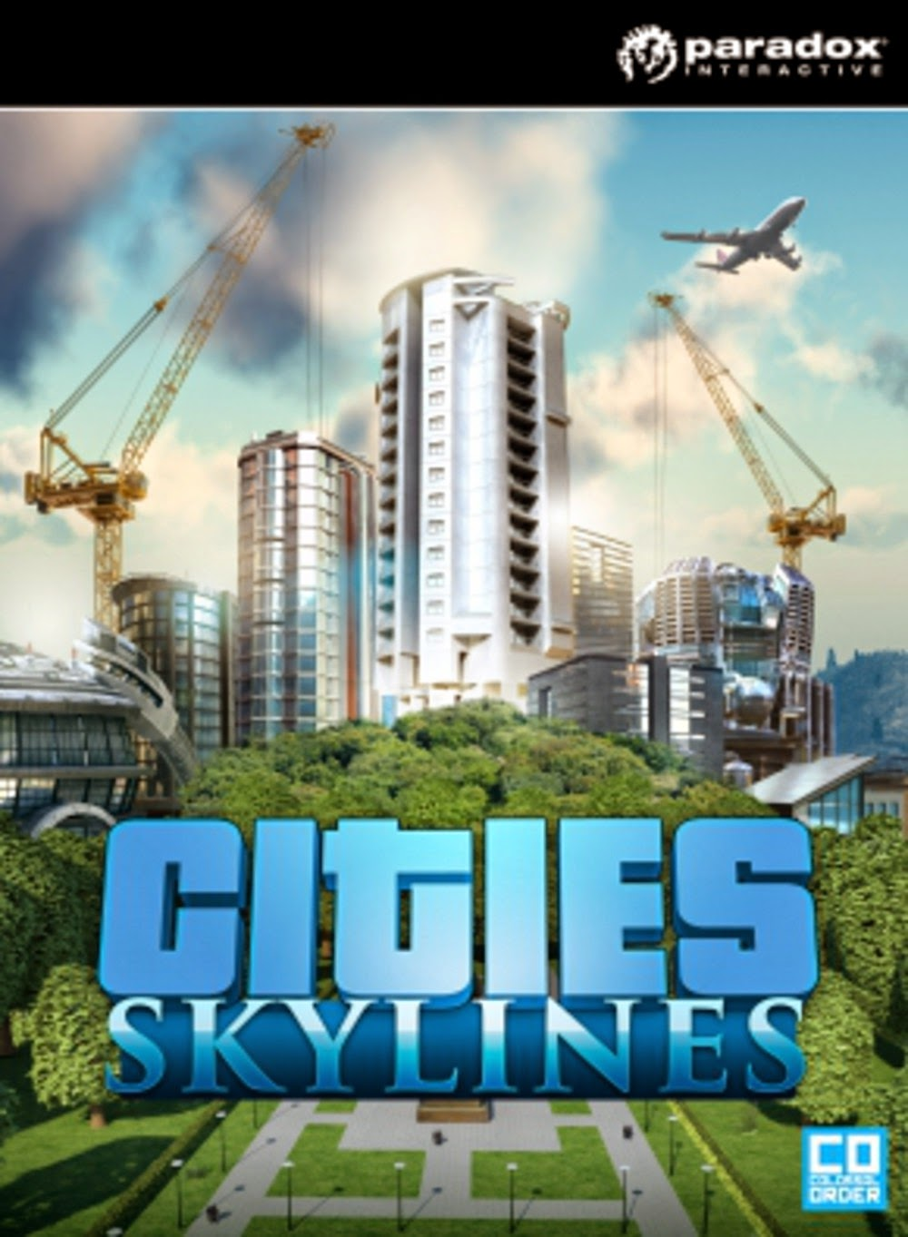 Cities Skylines Cover Caratula