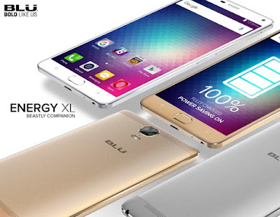 BLU launches Energy XL with 6-inch display, fingerprint sensor and 5,000mAh battery