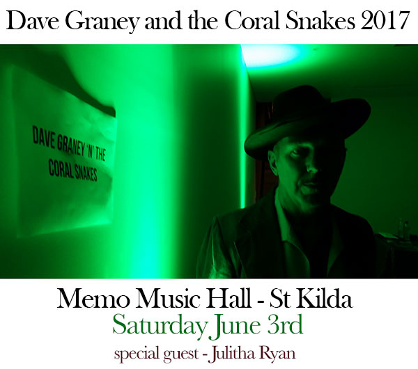 http://www.memomusichall.com.au/memo-gig/dave-graney-n-coral-snakes/