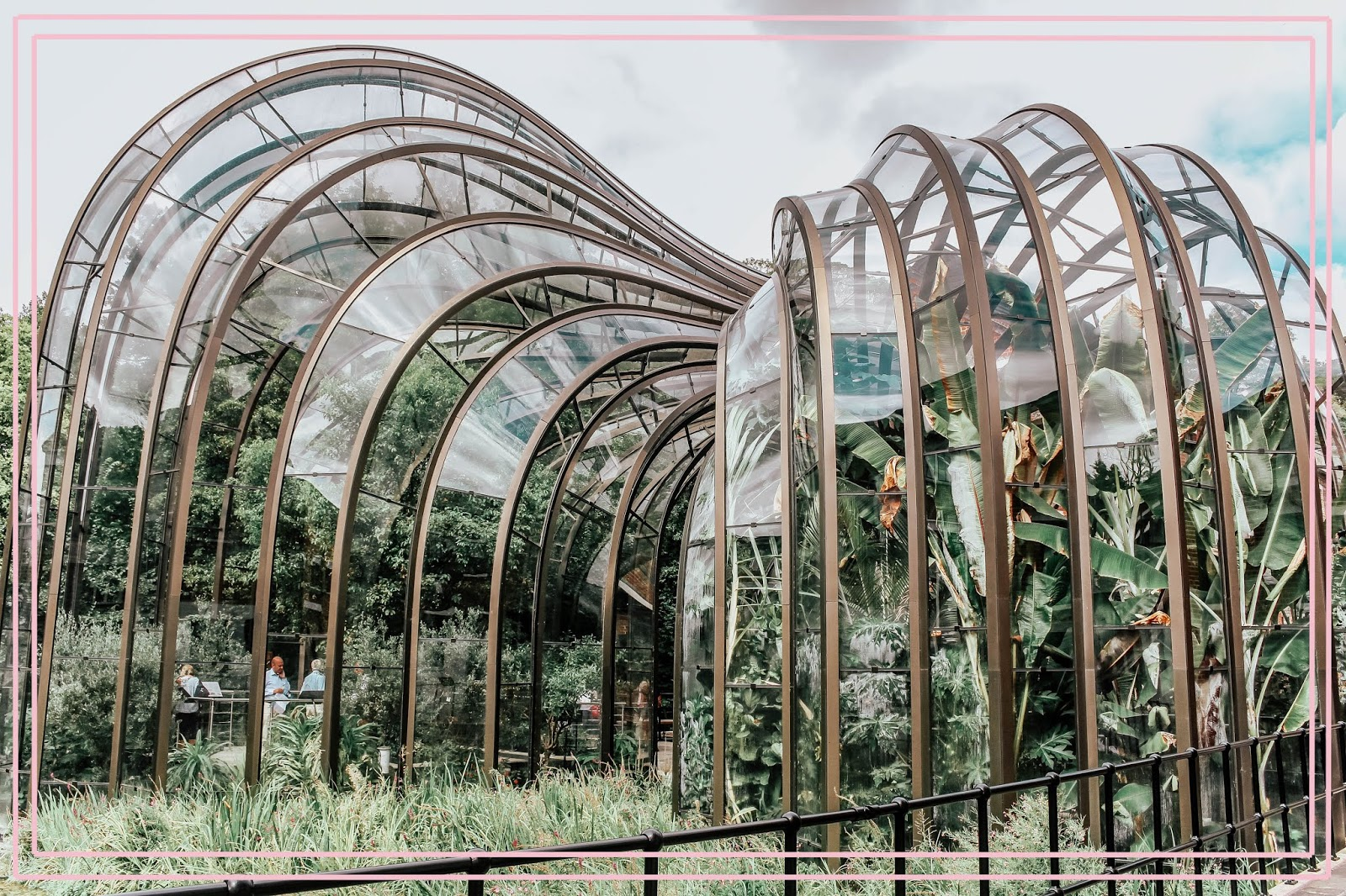 Bombay Sapphire Distillery Twin Glasshouse Photography