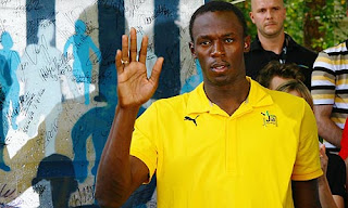 Hand Image Of Usain Bolt  Palm Reading