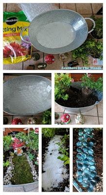 planting a fairy garden
