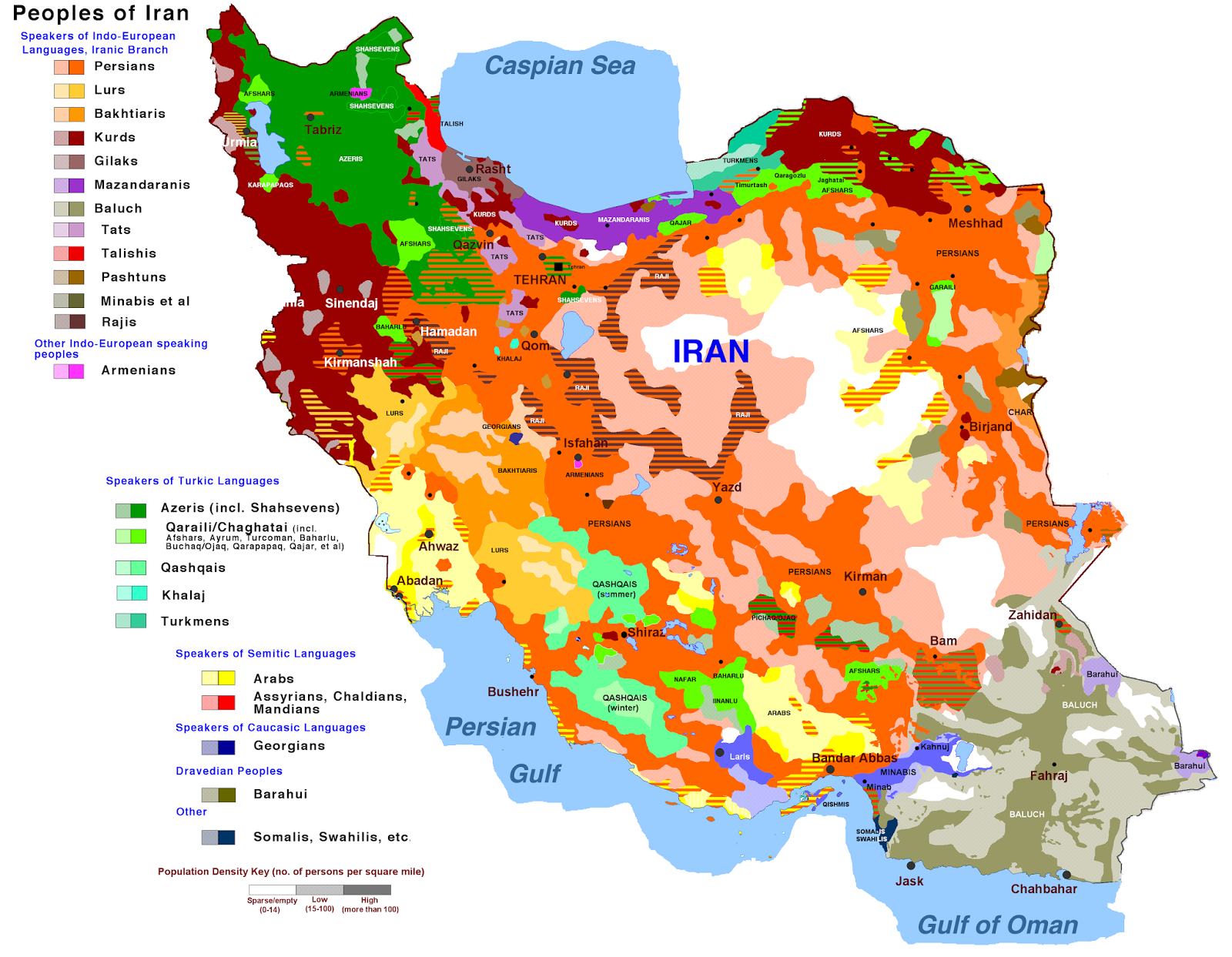 Peoples of Iran