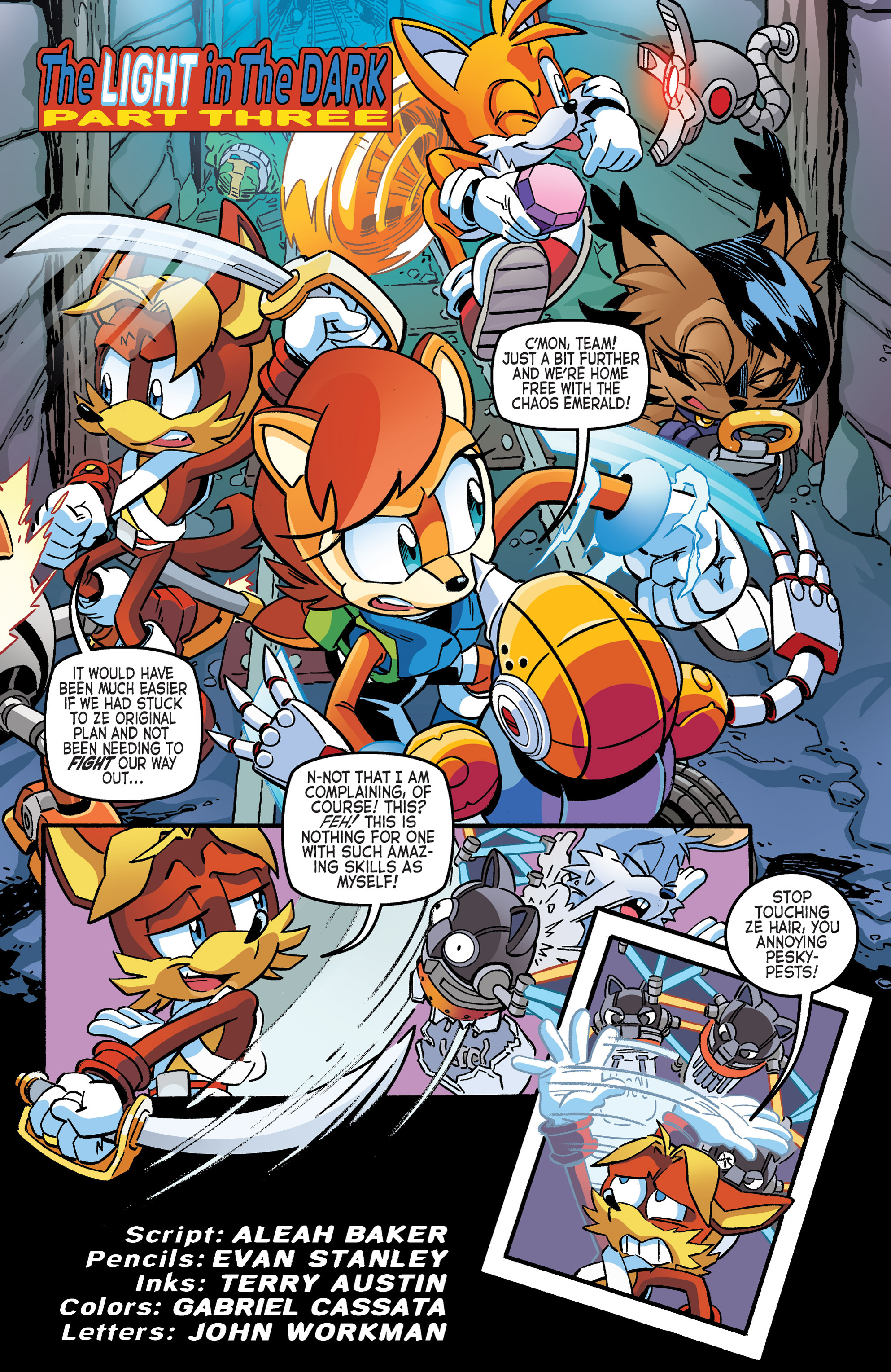 Read online Sonic The Hedgehog comic -  Issue #262 - 18