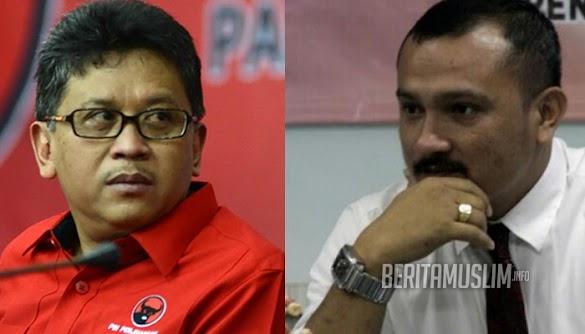 Hasto Sindir Pidato Prabowo, Ferdinand : Mungkin Dia Habis Minum Racun Kalajengking!