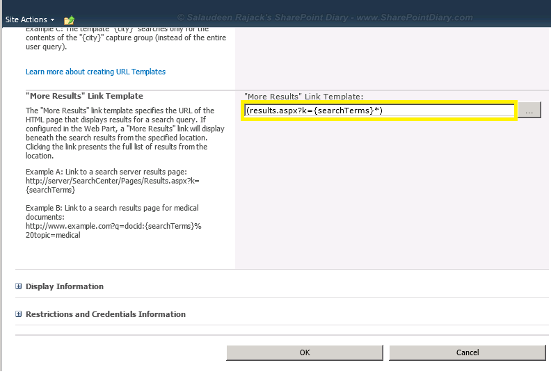 Sharepoint 2010 wildcard search