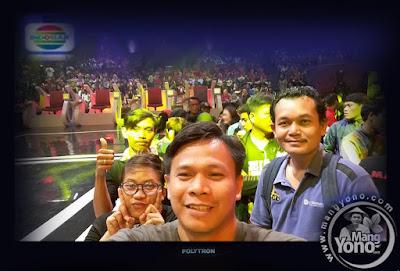 Admin Blog Mang Yono dan teman di studio 5 Indosiar