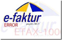 Solusi e-Faktur Kode Error ETAX-20008 Error Validasi