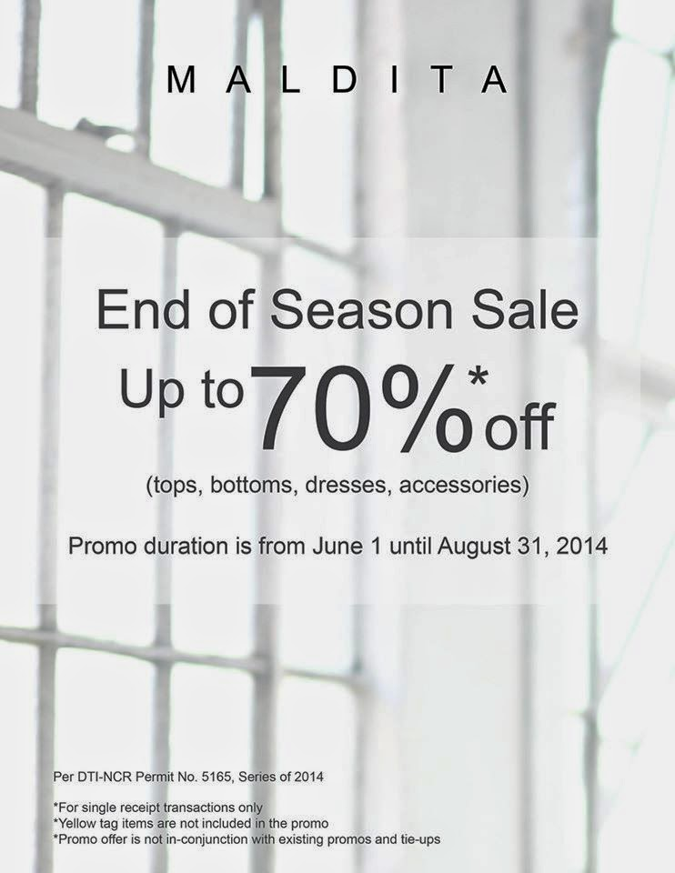 0022e3acb0 Maldita End of Season SALE  July 2014