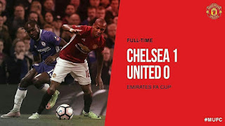 FA CUP: Chelsea 1-0 Manchester United