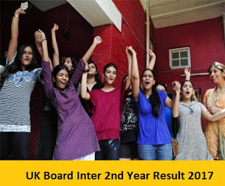 UK Board Inter 2nd Year Result 2017