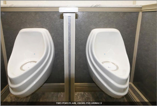 The Driftwood Men's Urinals