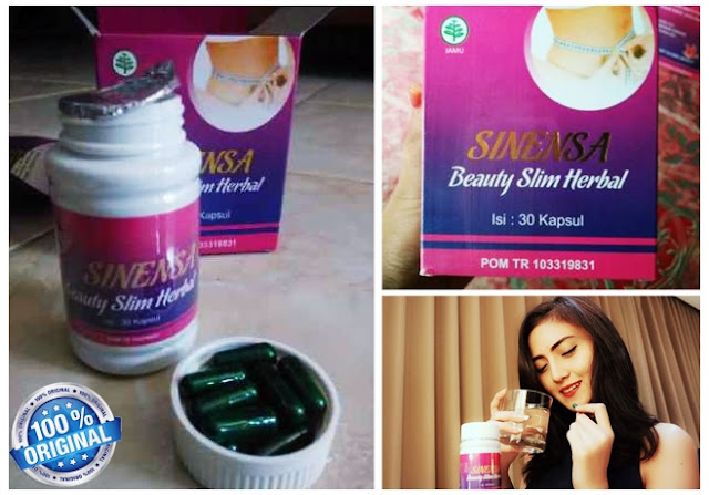 Jual sinensa beauty slim herbal original murah