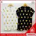 FNC187K35 Kaos Mini Banana Full Wanita Print Spandek Serba 50 Ribuan