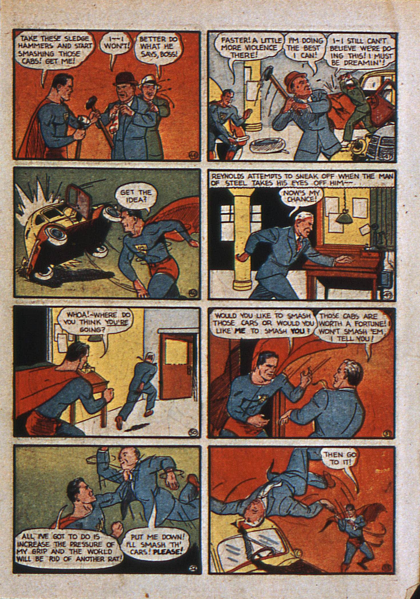 Action Comics (1938) 13 Page 8