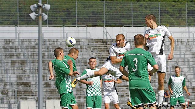 Sparta pokonało 8-0 Leśnika Cewice fot.Robert Skumiał