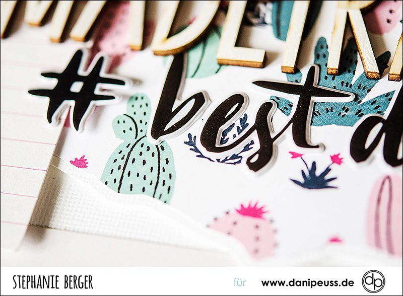 Stephanie Berger - Scrapbooking - Dani Peuss- Madeira