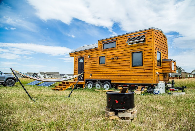 Tiny House Town Bozeman Tiny House 280 Sq Ft