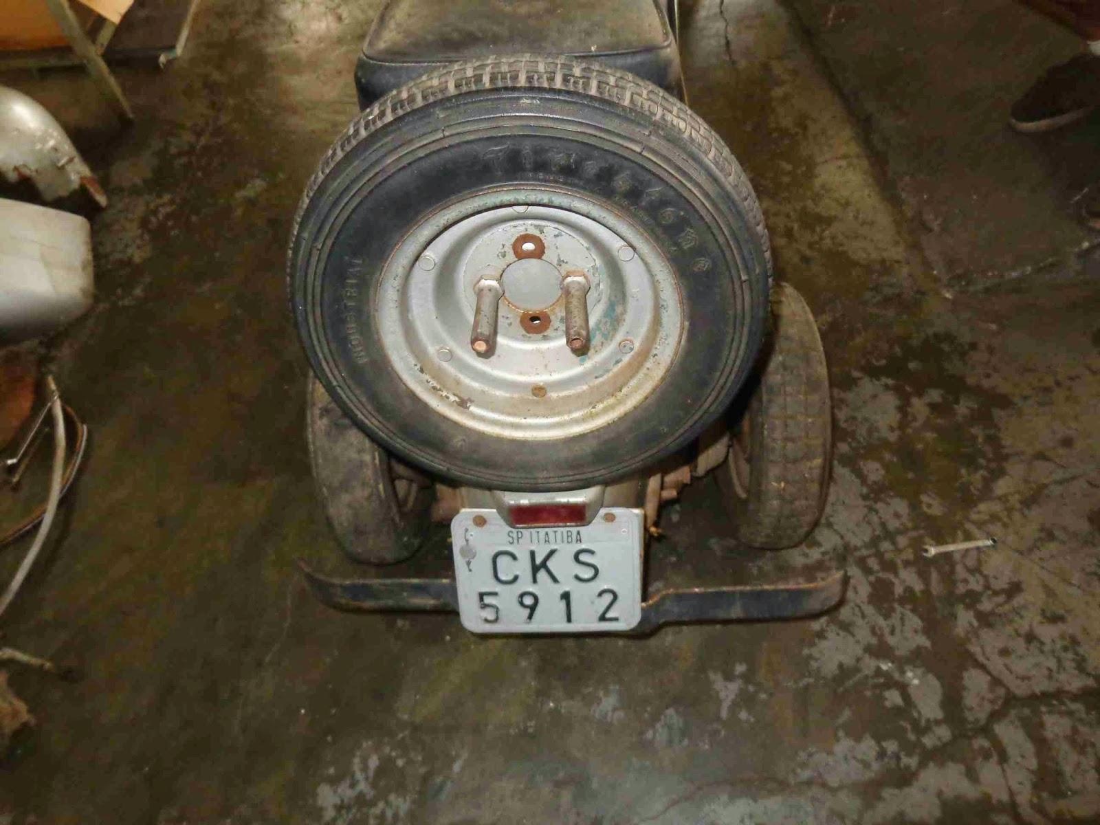 DSC01462 - RESTAURAÇÃO DA VESPA M3 - 1960 - PARTE #01