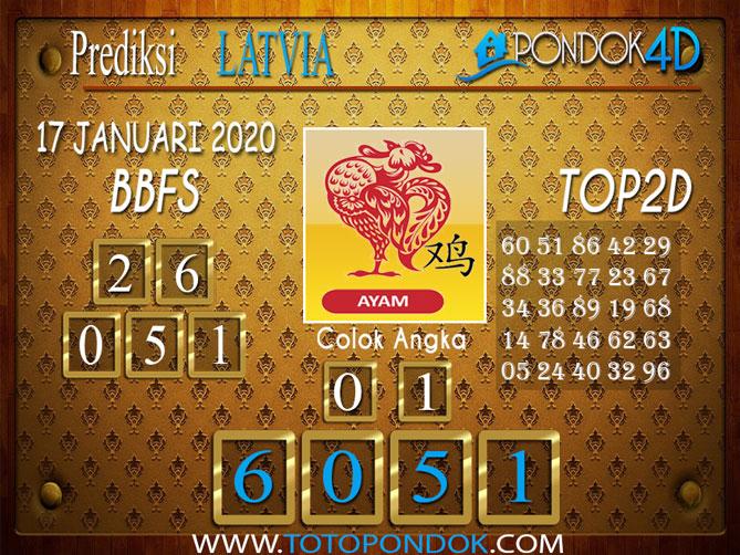 Prediksi Togel LATVIA POOLS PONDOK4D 17 JANUARI 2020