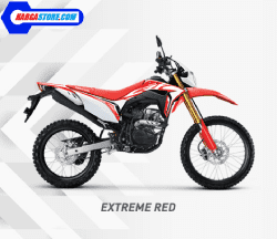 Honda CRF150L Extreme Red