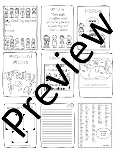 The Sixth Grade Scoop: Country Report Ideas
