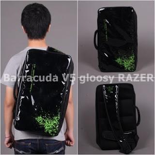 Gaming Bag - Tas Gaming Barracuda GLOSSY - Razer