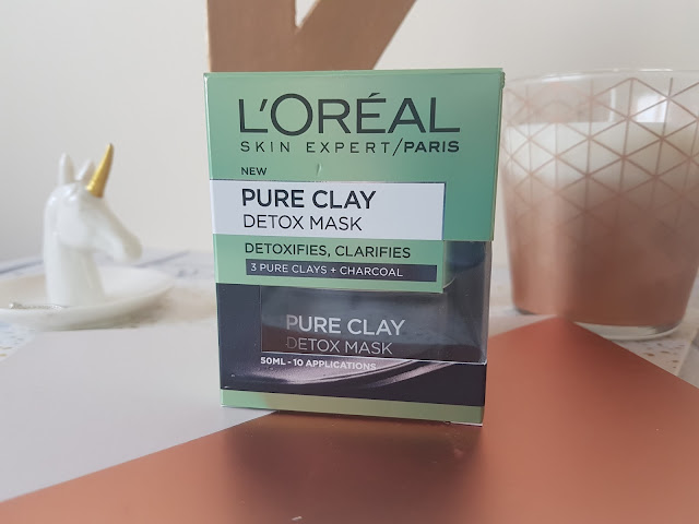 Review | L'Oreal Pure Clay Detox Mask