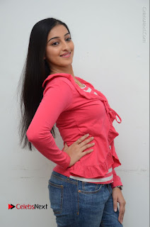 Telugu Actress Mouryani Latest Pos in Blue Denim Jeans  0023.JPG