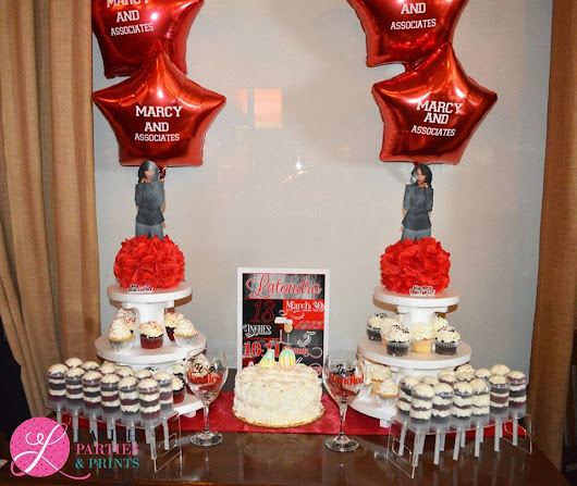 Lavish Parties and Prints by Talia: Planning A Scandalous Affair {Latondra's Scandal Themed 40th Birthday}