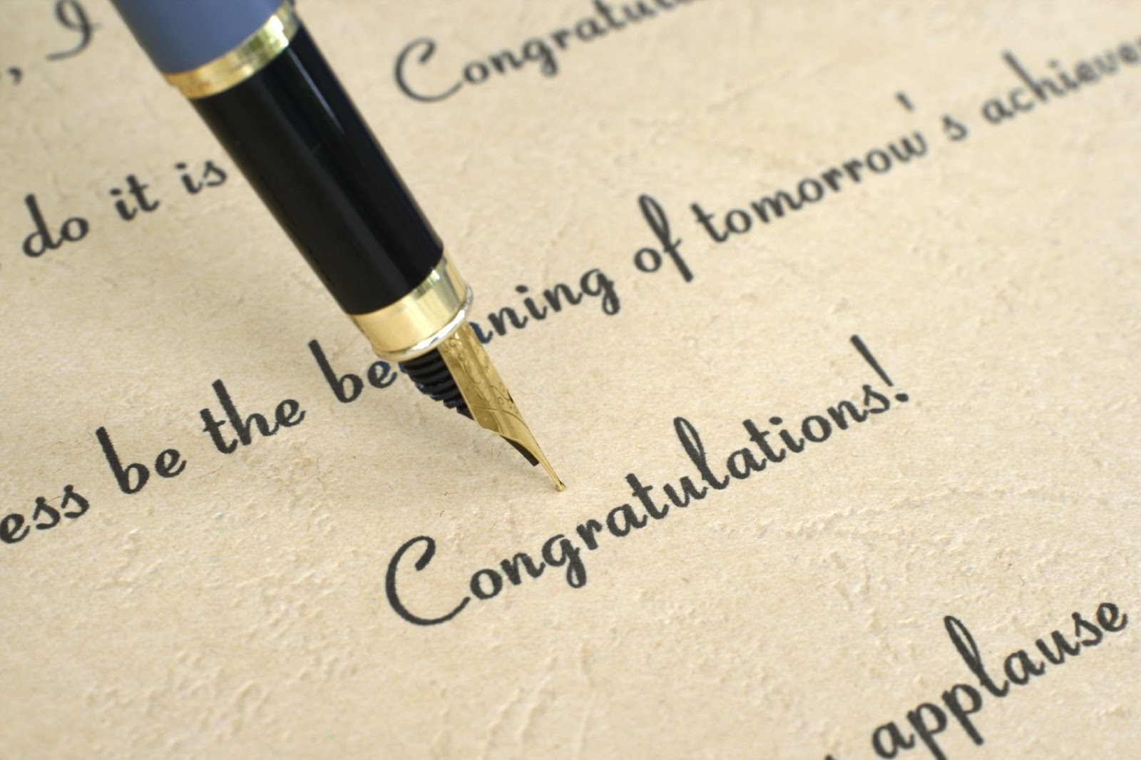 congratulations on your job confirmation