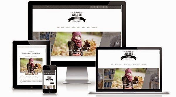 Allure Responisve Blogger Template