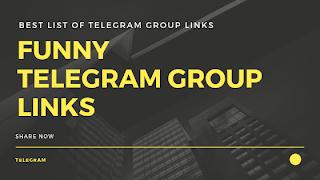 Funny Telegram Group Link | Best Telegram Group Links - Bot Look
